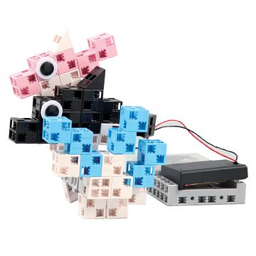 programmation d'un petit robot dauphin