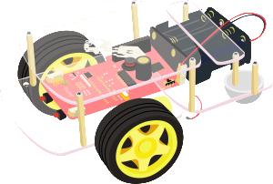 Robot avec une carte Raspberry Pi